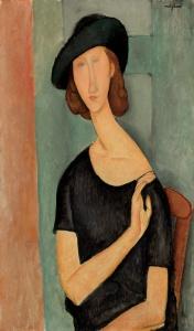 Amedeo_Modigliani_-_Portrait_de_Jeanne_Hébuterne_(au_Chapeau)
