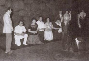 Puchalskis_at_Yad_Vashem_(1987)