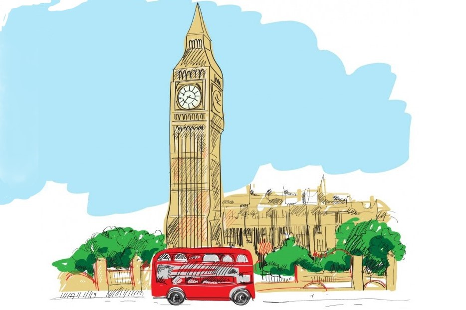 Big-Ben_i_londonskij_krasnyj_avtobus(illjustracija)-764x764